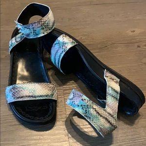 Italian leather sandals. Rebeca Sanver. 7